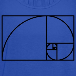 Fibonacci Spiral T-Shirts - Women's Flowy Tank Top by Bella