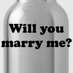 Will You Marry Me? - Water Bottle
