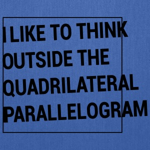 Outside the Quadrilateral Parallelogram Women's T-Shirts - Tote Bag