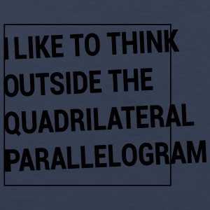 Outside the Quadrilateral Parallelogram Women's T-Shirts - Men's Premium Tank