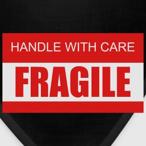 Handle with Care / Fragile 2c Women's T-Shirts - Bandana