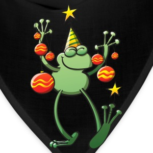 Christmas Decorations for a Frog T-Shirts - Bandana