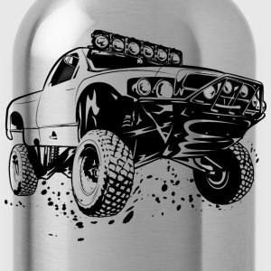 Off-Road Race Truck Kids' Shirts - Water Bottle