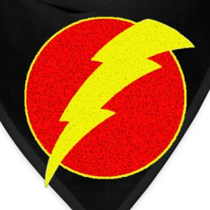 super, superhero, retro, lightning, bolt,  - Bandana