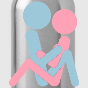Kamasutra - Hugging Position T-Shirts - Water Bottle