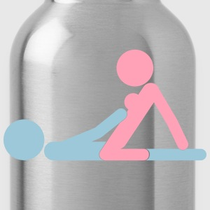 Kamasutra - Woman on top T-Shirts - Water Bottle