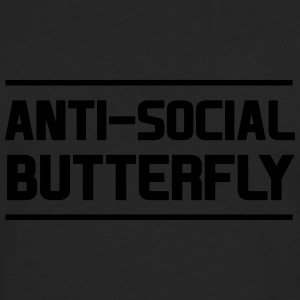 Anti-Social Butterfly Women's T-Shirts - Men's Premium Long Sleeve T-Shirt
