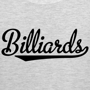 billiards T-Shirts - Men's Premium Tank