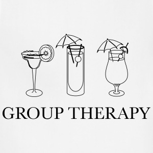 Alcohol. Group Therapy T-Shirts - Adjustable Apron