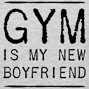 Gym is my new boyfriend Women's T-Shirts - Men's Premium Long Sleeve T-Shirt