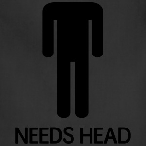 Needs Head T-Shirts - Adjustable Apron