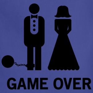 Wedding. Game Over Ball and Chain Women's T-Shirts - Adjustable Apron