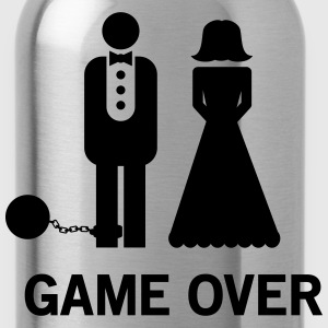 Wedding. Game Over Ball and Chain Women's T-Shirts - Water Bottle