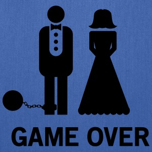 Wedding. Game Over Ball and Chain Women's T-Shirts - Tote Bag