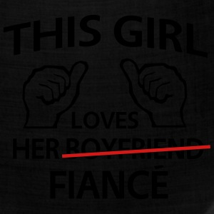 This Girl Loves Her Fiance Women's T-Shirts - Bandana
