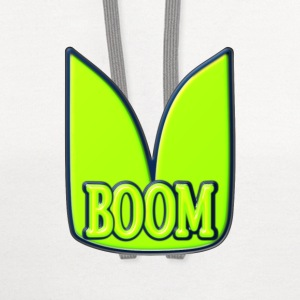Boom T-Shirts - Contrast Hoodie