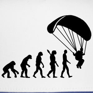 Evolution Parachute jumping Women's T-Shirts - Trucker Cap