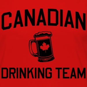 Canadian Drinking Team T-Shirts - Women's Premium Long Sleeve T-Shirt
