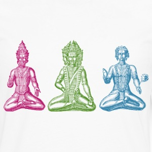 Hindu Gods RGB - Men's Premium Long Sleeve T-Shirt