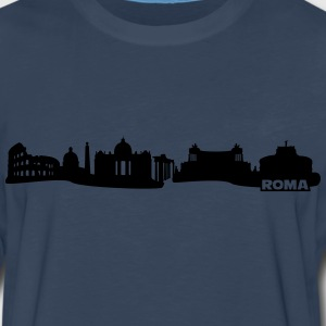 Rome skyline Shirt - Men's Premium Long Sleeve T-Shirt