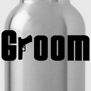 Mob Groom T-Shirts - Water Bottle
