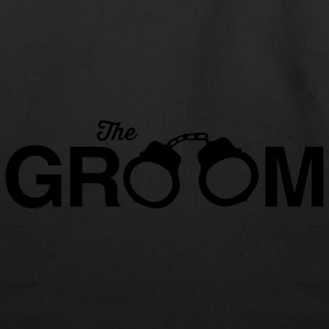 The Groom Handcuffs T-Shirts - Eco-Friendly Cotton Tote