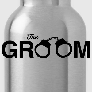 The Groom Handcuffs T-Shirts - Water Bottle