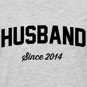 Husband Since 2014 T-Shirts - Men's Premium Long Sleeve T-Shirt