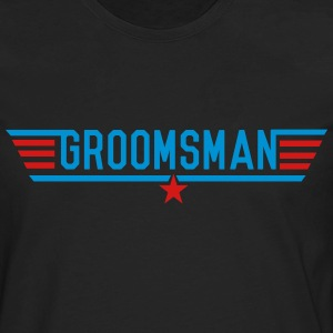Top Groomsman T-Shirts - Men's Premium Long Sleeve T-Shirt