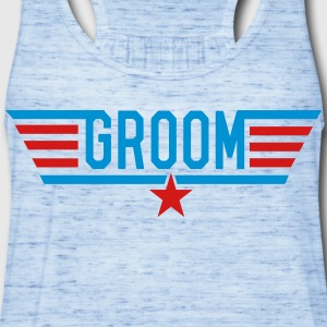 Top Groom T-Shirts - Women's Flowy Tank Top by Bella