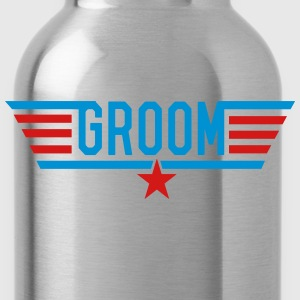 Top Groom T-Shirts - Water Bottle