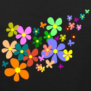flowers Women's T-Shirts - Men's Premium Tank