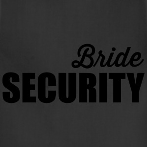 Bride Security T-Shirts - Adjustable Apron