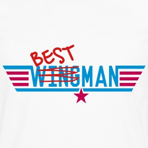 Best Man - Ex-Wingman T-Shirts - Men's Premium Long Sleeve T-Shirt