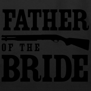 Father of the Bride with Gun T-Shirts - Eco-Friendly Cotton Tote