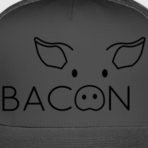 Bacon Pig Face T-Shirts - Trucker Cap