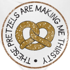 These Pretzels are Making Me Thirsty Women's T-Shirts - Bandana