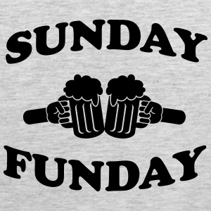 Sunday Funday Beers Women's T-Shirts - Men's Premium Tank