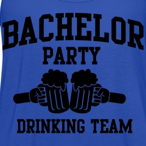 Bachelor Party Drinking Team T-Shirts - Women's Flowy Tank Top by Bella