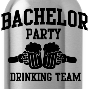 Bachelor Party Drinking Team T-Shirts - Water Bottle