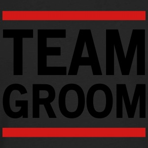 Team Groom Lined T-Shirts - Men's Premium Long Sleeve T-Shirt