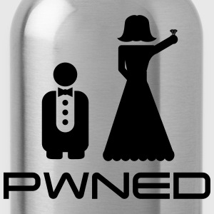 Marriage Pwned T-Shirts - Water Bottle