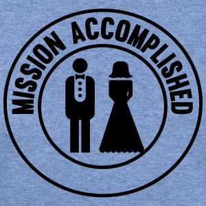Marriage. Mission Accomplished T-Shirts - Women's Wideneck Sweatshirt