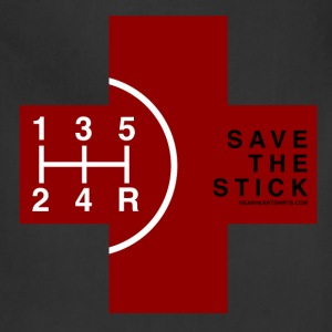 Save the Stick - Red Cross - 5 Speed T-Shirts - Adjustable Apron
