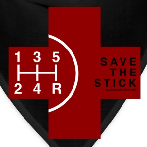 Save the Stick - Red Cross - 5 Speed T-Shirts - Bandana