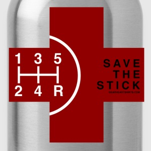 Save the Stick - Red Cross - 5 Speed T-Shirts - Water Bottle