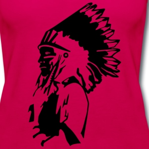 Indian sachem T-Shirts - Women's Premium Tank Top