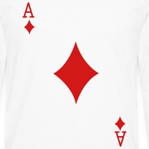Ace Playing Card Women's T-Shirts - Men's Premium Long Sleeve T-Shirt