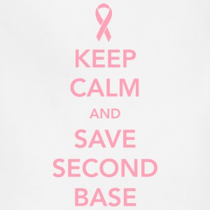 Keep Calm and Save Second Base T-Shirts - Adjustable Apron