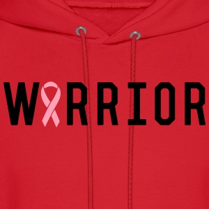 Breast Cancer Warrior T-Shirts - Men's Hoodie
